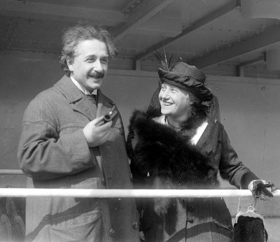 Einstein and Daughter